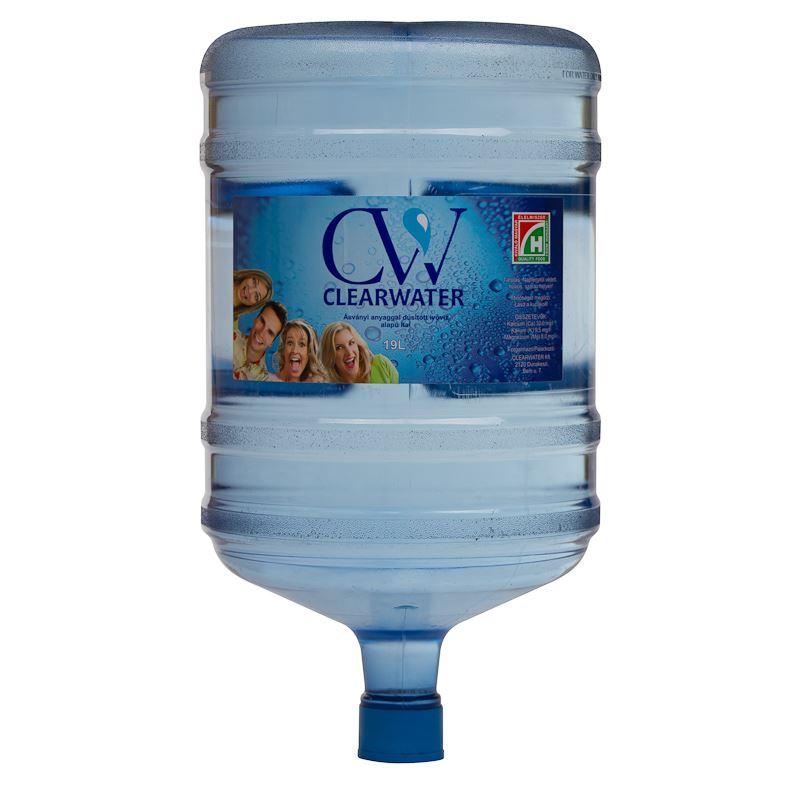 Clearwater Ballonos víz (19 literes)